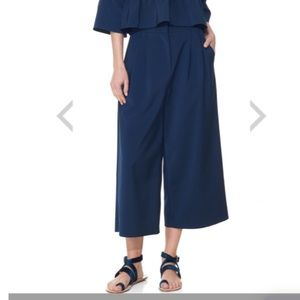 BRAND NEW TIBI STRETCH FAILLE CULOTTES